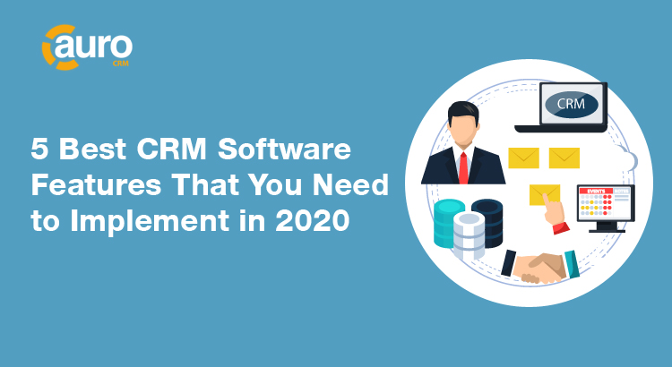 CRM Software Features