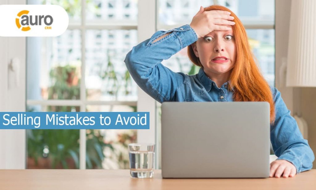 Selling Mistakes to Avoid