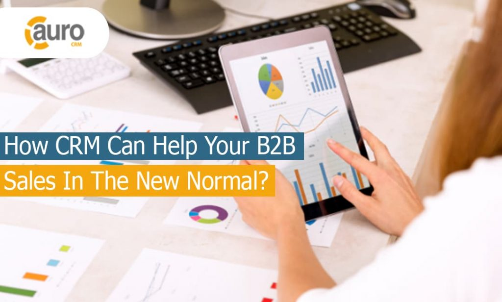 How CRM Can Help Your B2B Sales In The New Normal?